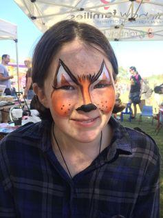 Fox Facepainting