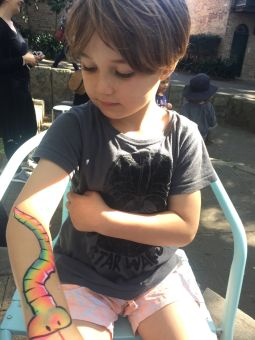 Snake Arm Painting