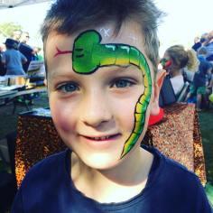 Snake Facepainting