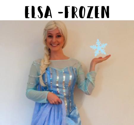 Elsa from Frozen Sydney Kids Entertainment