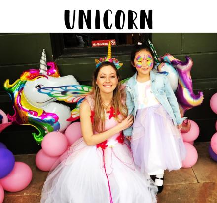 Unicorn Childrens Parties Entertainment