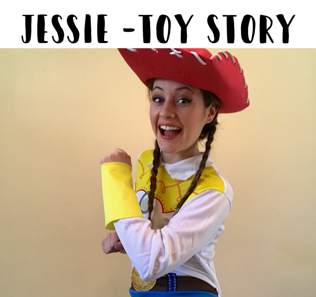 Jessie Toy Story Best Mobile Kids Hosts for Parties Sydney